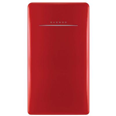 Daewoo red compact fridge