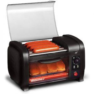 Elite Gourmet 4 Buns hot dog toaster