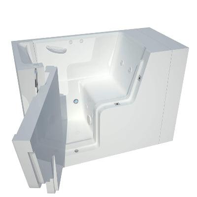 Meditub Wheelchair Accessible Hydrotherapy Walk-In Spa Bathtub