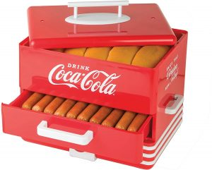 Nostalgia Large Coca-Cola Diner-Style Steamer